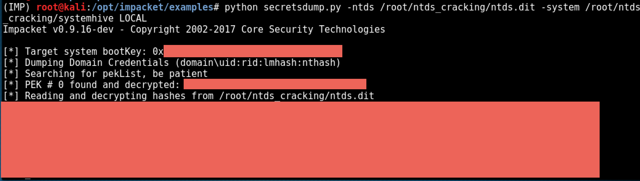 Extracting Hashes And Domain Info From Ntds Dit Ropnop Blog Esedbexport (inside libesedb) is used to export database stored in an extensible storage engine (ese) database (edb) file. domain info from ntds dit